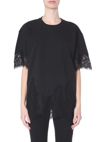 McQ Alexander McQueen T-shirt With Lace Inserts