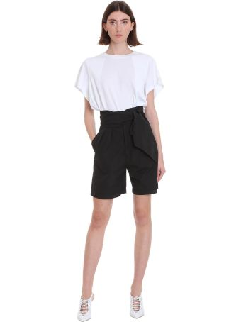 Mauro Grifoni Shorts In Black Cotton