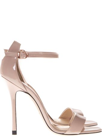 Marc Ellis Powder Patent High  Leather Sandals