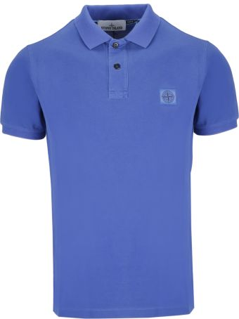 Stone Island Patched Polo Shirt
