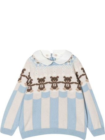 Fendi Teddy Bear Sweater