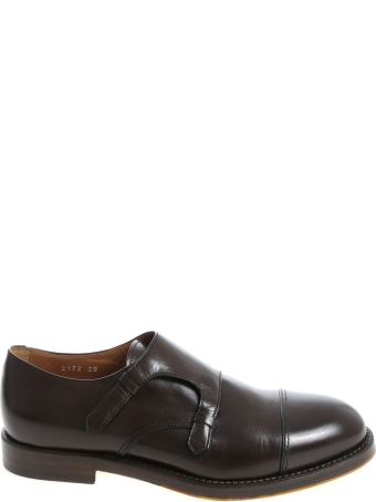 Doucal's Leather Monk Strap