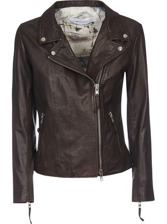 Bully Zipped Leather Jacket