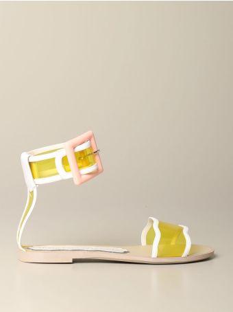 Francesca Bellavita Flat Sandals Shoes Women Francesca Bellavita