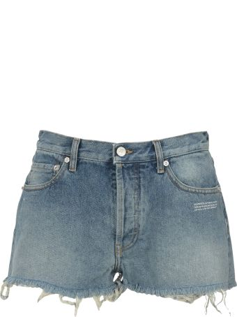 Off-White Off White Denim Shorts