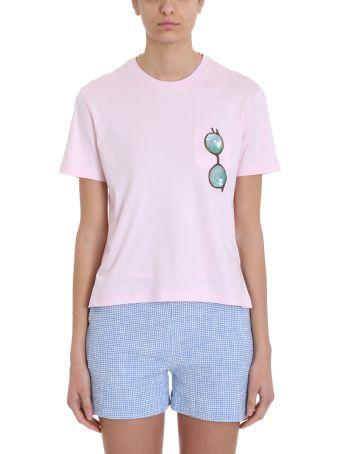 Thom Browne Trompe L'oiel Sunglasses Patch T-shirt