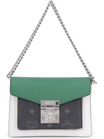 MCM Patricia Leather Shoulder Bag