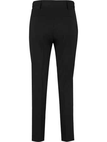 RED Valentino Virgin Wool Tailored Trousers