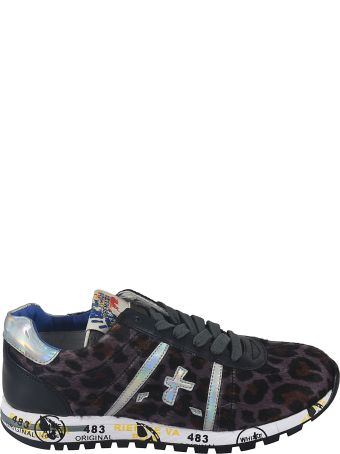 Premiata Lucy Leopard Detail Sneakers