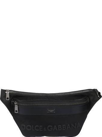 Dolce & Gabbana Logo Patch Belt Bag