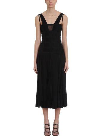 Giovanni Bbedin Pleated Maxi Dress