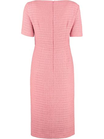 Boutique Moschino Tweed Sheath Dress