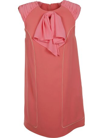 Elisabetta Franchi Celyn B. Elisabetta Franchi For Celyn B. Sleeveless Ruffled Applique Dress