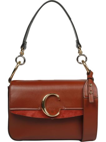 Chloé C Plaque Small Shoulder Bag