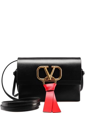 Valentino Garavani V Ring Shoulder Bag