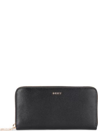 DKNY Bryant Black Leather Wallet
