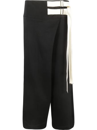 Y's Double Belt Trousers