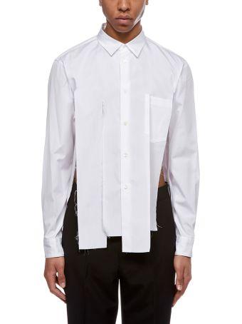 Comme Des Garçons Homme Plus Distressed Shirt