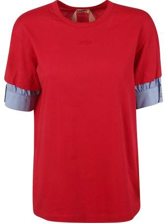 N.21 Shirt Cuffed T-shirt