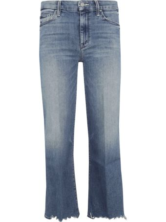 Mother Distressed Detail Jeans