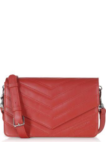 Lancaster Paris Parisienne Matelasse Leather Shoulder Bag