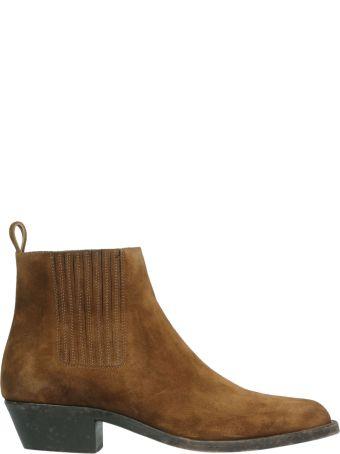 Saint Laurent Wyatt Chelsea Ankle Boots