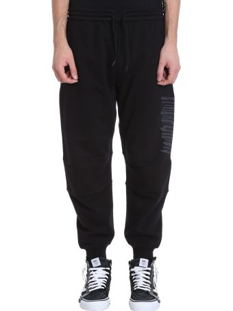 Maharishi Miltype Black Cotton Pants