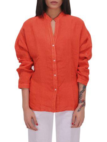 Massimo Alba Red Amelie Overshirt