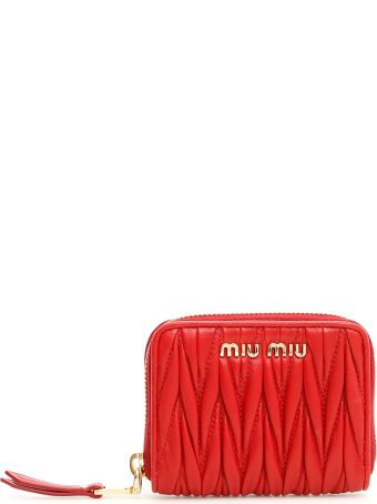 Miu Miu Quilted Coin Purse