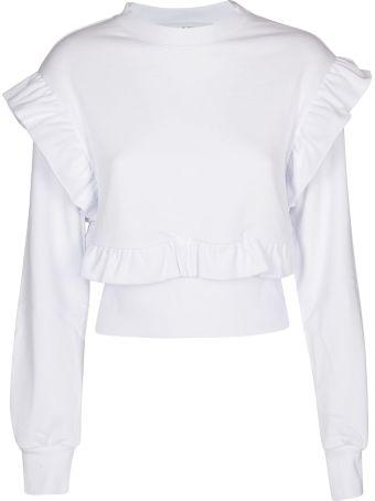 MSGM Ruffled Sweatshirt