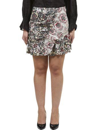 Isabel Marant Étoile Floral Mini Skirt