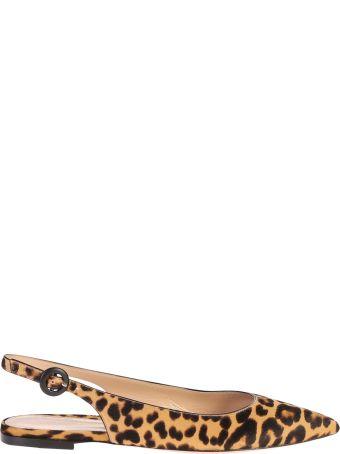 Gianvito Rossi Leopard Print Shoes