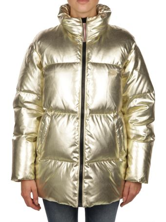 Tommy Hilfiger Europe Rich Gold Down Jacket
