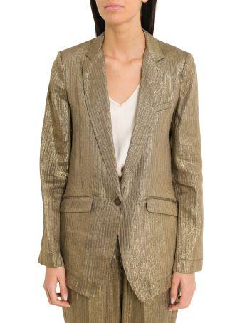 Forte_Forte Lurex Linen Masculine Jacket