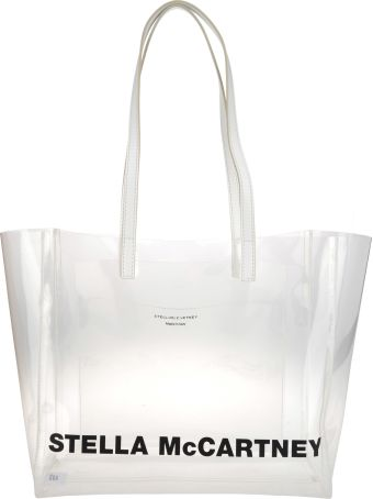 Stella McCartney Shopping Pvc Transparent Logo