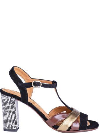 Chie Mihara Color-block Sandals