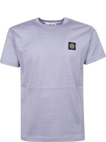 Stone Island Logo Patch T-shirt