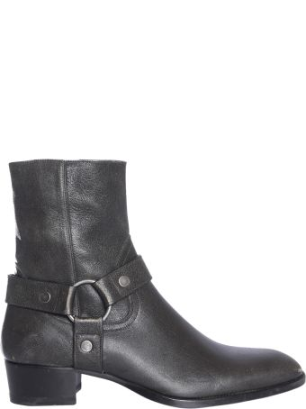 Saint Laurent Leather Boot