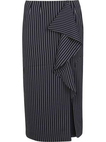 Essentiel Pinstriped Skirt