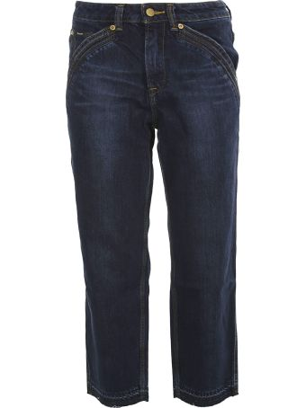 self-portrait Washed Jeans
