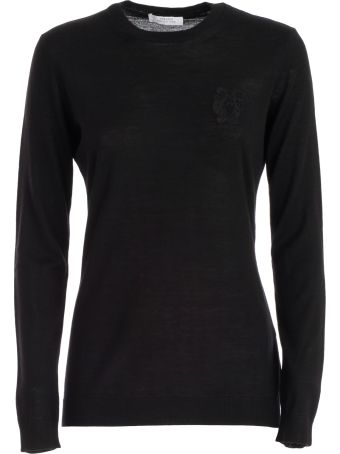 Versace Collection Embroidered Sweater