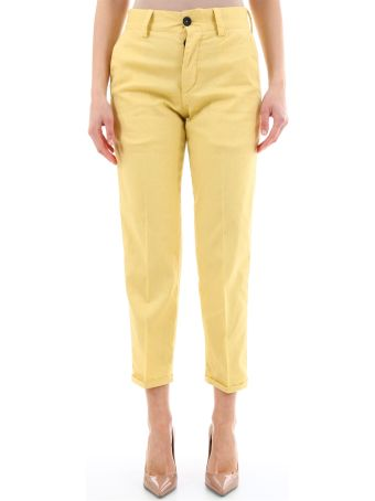 PT01 Yellow Chino Trousers