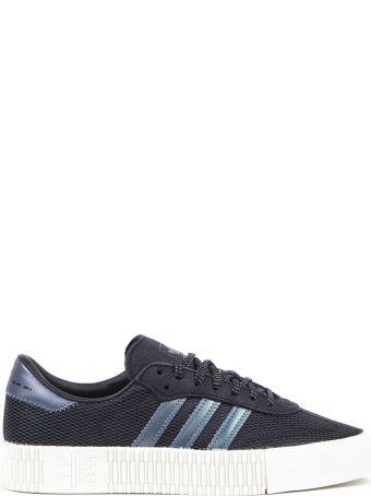Adidas Originals Sambarose Black Nylon Sneakers