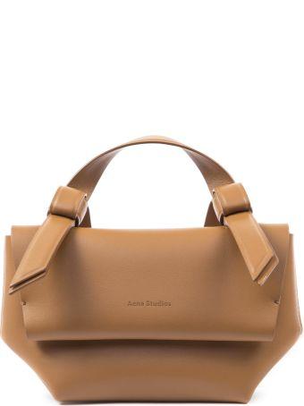 Acne Studios Caramel Leather Musubi Small Handbag