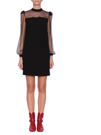 Givenchy Crepe And Tulle Dress