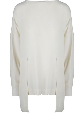 PierAntonioGaspari Pier Antonio Gaspari High Low Hem Blouse