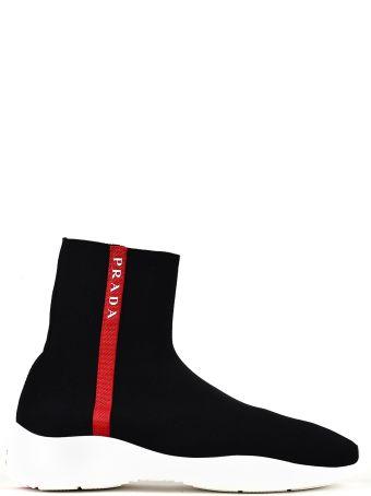 Prada Linea Rossa Prada High-top Sneakers