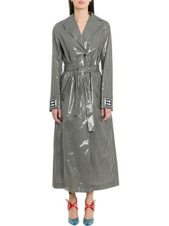 Off-White Vichy Check Trench Coat