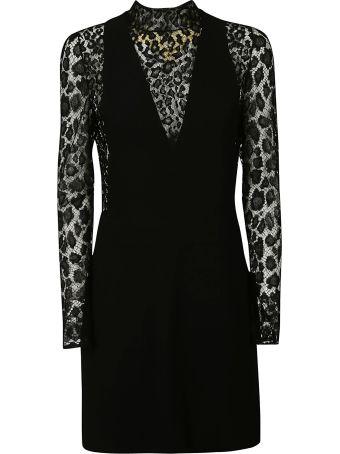 Givenchy Lace Leopard Print Dress