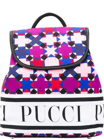 Emilio Pucci Multicolor Backpack